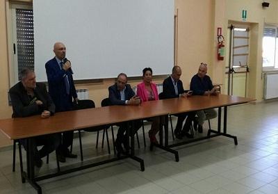 Il presidente della Provincia, dott. Franco Iacucci ha visitato l'IISS di Diamante
