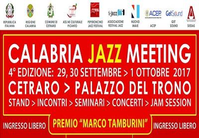 A Cetraro la 4^ edizione del Calabria Jazz Meeting