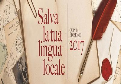 """Scade il 15 settembre il termine per partecipare al Premio Nazionale """"Salva la tua lingua locale"""""""