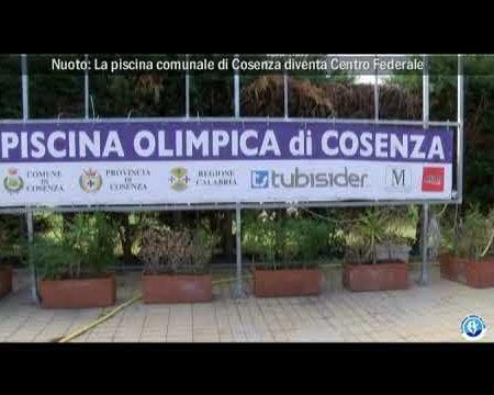 Nuoto: La piscina comunale di Cosenza diventa Centro Federale, intervista a Carmine Manna Pres. Cosenza Nuoto