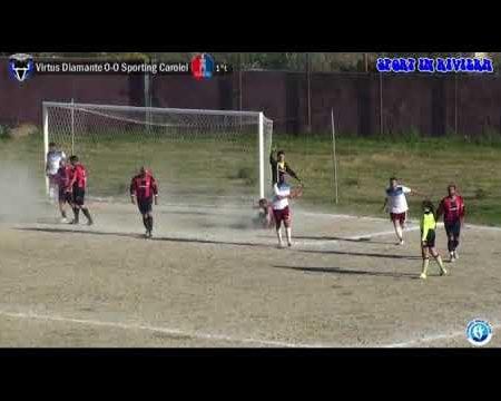 Calcio 2 ^ cat.- Virtus Diamante- Sporting Carolei 1-0 sintesi