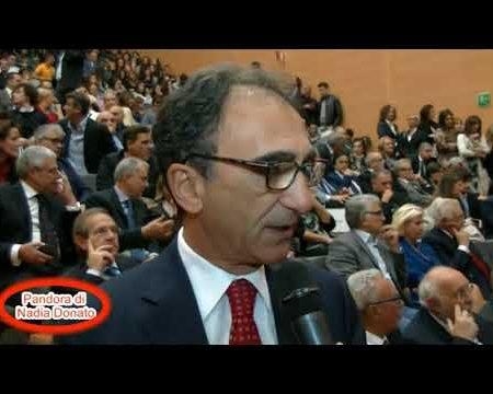 """Pandora di Nadia Donato: Speciale insediamento nuovo Rettore Università """"Magra Graecia"""" (CZ)"""