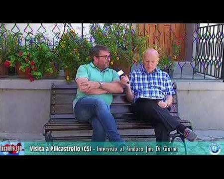 Visita a Policastrello frazione di San Donato di Ninea (Cs)- Intervista al sindaco Jim Di Giorno