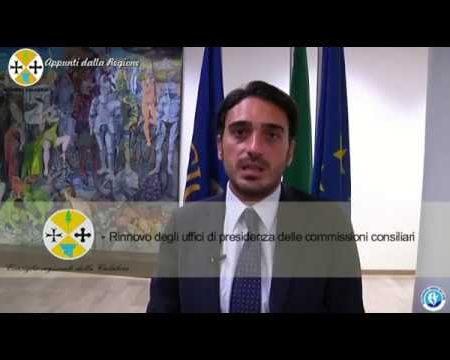 Appunti dalla Regione: Contenitore informativo dal Consiglio Regionale della Calabria