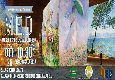Regione: Promozione e Sviluppo del Turismo attraverso il Museo Esperienziale Diffuso Regionale
