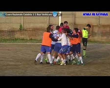 Calcio 3^cat: Cuore Nazionale Calabria-Real Verbicaro 1-3 sintesi