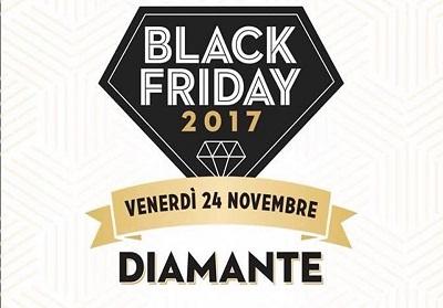 Diamante: Venerdì 24 Black Friday, sconti nei negozi che aderiscono all'iniziativa.