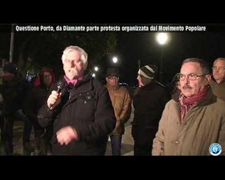 Questione porto, a Diamante la protesta dei cittadini