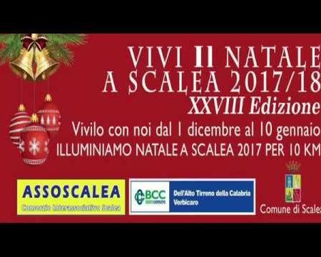 Presentazione Vivi il Natale a Scalea XVIII edizione