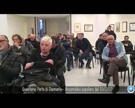 Porto di Diamante: Assemblea del Movimento popolare del 10/12/17
