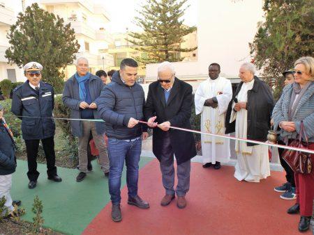 Diamante: Inaugurato il parco giochi inclusivo dedicato a Cristian