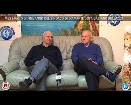 Messaggio di fine anno del sindaco di Diamante Gaetano Sollazzo