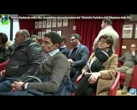 """Parco Nazionale della Sila: Assemblea del """"Distretto Turistico dell'Altopiano della Sila""""- interviste"""