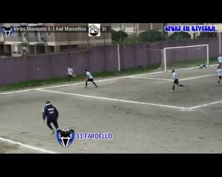 Calcio 2^ cat- Virtus Diamante-Asd Marcellina 2-1 sintesi