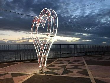 San Valentino, a Diamante e Cirella esplode l'amore grazie all'iniziativa dei commercianti