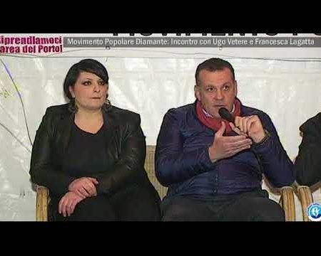 Diamante: Incontro con Ugo Vetere e Francesca Lagatta a cura del Movimento Popolare