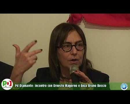 Circolo PD Diamante: Incontro con Ernesto Magorno e Enza Bruno Bossio
