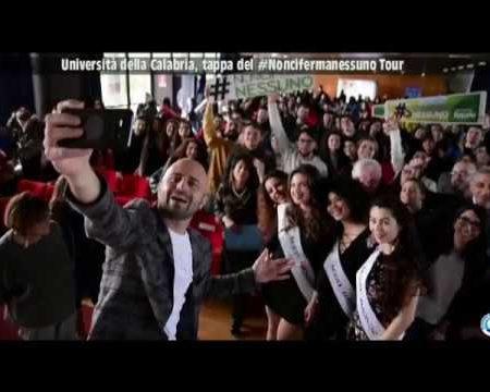 Unical:Tappa del #Noncifermanessuno Tour. Intervista a Luca Abete