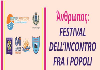 Acquappesa: Festival dell'Incontro fra i Popoli, una giornata sul tema del ben-essere