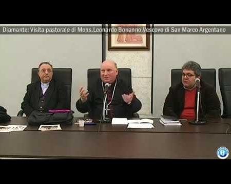 Diamante: Visita Pastorale di Mons. Bonanno, Vescovo di S.Marco Argentano