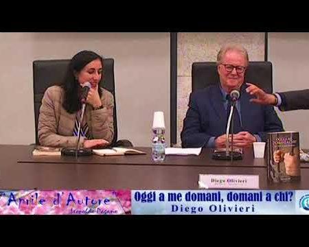 """Diamante: Presentazione libro """"Oggi a me domani a chi?"""" di Diego Olivieri"""