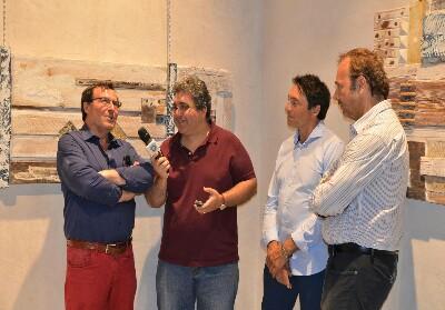 Diamante: Grande interesse per la mostra di Aligia e Salemme