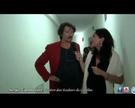 Diamante: Intervista a Sergio Cammariere dopo il concerto al Teatro dei Ruderi di Cirella