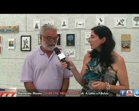 """Diamante: Mostra """"Diversità nelle forme"""" di Aldo Lotito e Francesco Bulzis"""