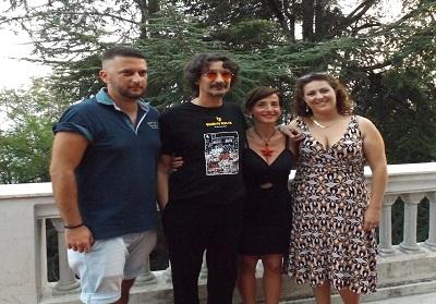 """Diamante: Sergio Cammariere testimonial dello Sportello antiviolenza """"La Ginestra"""""""