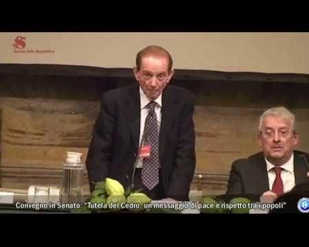 Tutela del Cedro di Calabria-Convegno in Senato – integrale