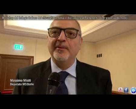 Workshop del Collegio italiano dei chirurghi sul tema in discussione al Parlamento: l'intramoenia dei medici-interviste