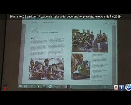 Diamante: Presentazione Agenda Pic 2019. Un'Agenda piccante che promuove il territorio
