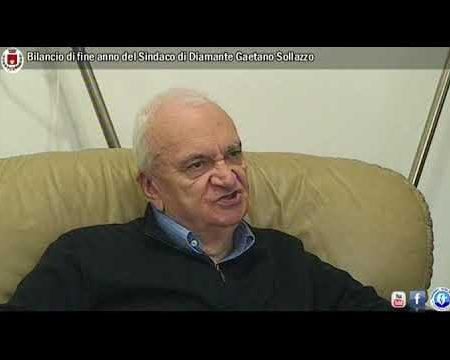 Diamante: Bilancio di fine anno del Sindaco Gaetano Sollazzo