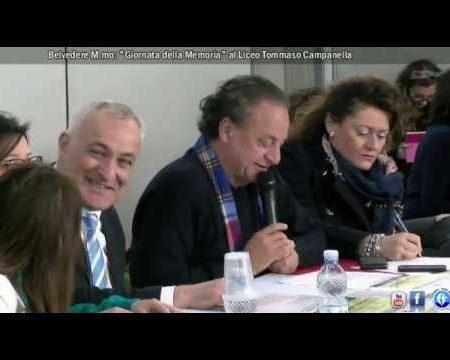 """Belvedere M.mo: """"Giornata della Memoria"""" al Liceo T.Campanella- interviste"""