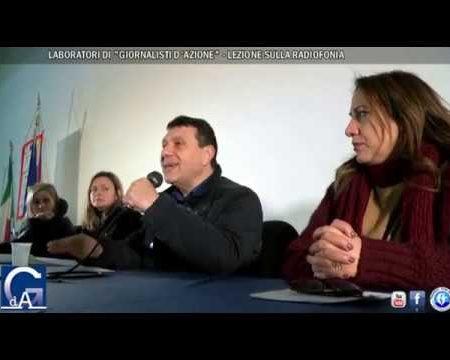 Giornalismo nelle scuole: A Cosenza lezione di Radiofonia a cura di Giornalisti d'Azione