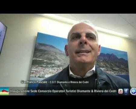 Inaugurazione Sede Consorzio Operatori Turistici Diamante & Riviera dei Cedri