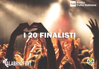"""Lamezia Terme: Selezionati i 20 Finalisti del """"Calabria Fest – Tutta Italiana"""""""