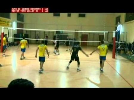 Volley: Auto Di Giorno Diamante vs Mister Toto Volley RC