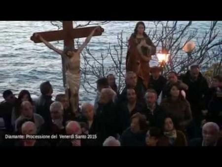 Diamante: Processione del Venerdì Santo 2015