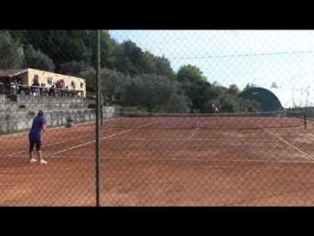 Tennis: semifinale F dei preliminari di qualificazione agli internazionali d'Italia