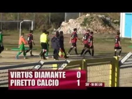 Calcio: Virtus Diamante – Piretto