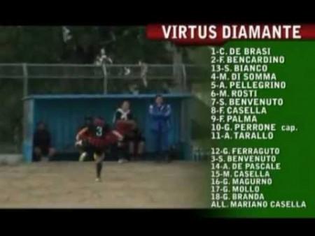Calcio: Virtus Diamante – La Rotese