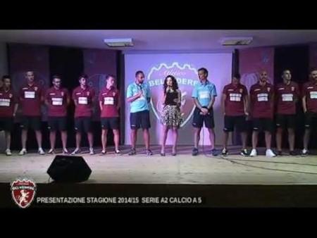 Presentazione della squadra ATLETICO BELVEDERE Calcio a 5 serie A2