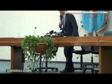 Visita del Premier MATTEO RENZI a Scalea