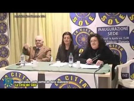 Inaugurazione sede della coalizione La Città del Sole