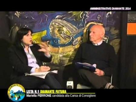 Intervista a MARIELLA PERRONE Candidata Lista Diamante Futura