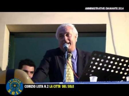 Comizio Lista La Città del Sole ed intervista alla candidata ORNELLA PERRONE