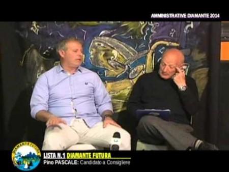 Intervista a PINO PASCALE candidato Lista Diamante Futura