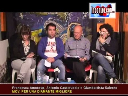 Incontro con A.CAUTERUCCIO, F.AMOROSO e G. SALERNO