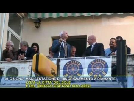 Elezione a sindaco di GAETANO SOLLAZZO